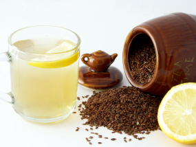 Linseed Tea (Flaxseed Tea) - An Invigorating boost of Omega 3 from Linseed/Flaxseed
