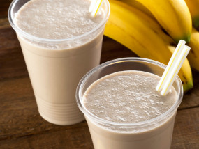 Linseed/Flaxseed Oil Banana Smoothie
