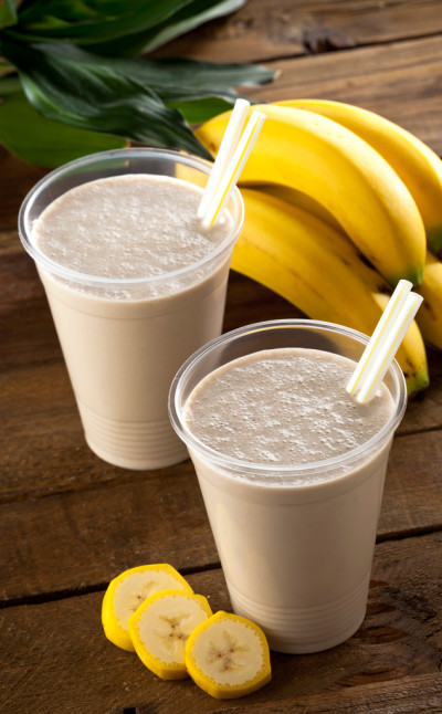 Linseed Flaxseed Oil Banana Smoothie Linseed Oil