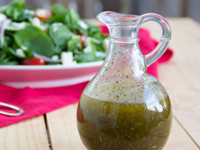 Linseed/Flaxseed Oil Vinaigrette/Salad Dressing