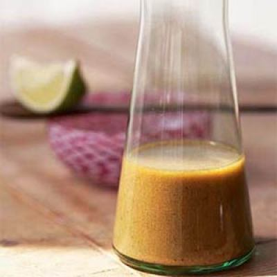 Healthy salad vinaigrette