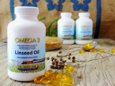 Linseed Flax seed Oil capsules