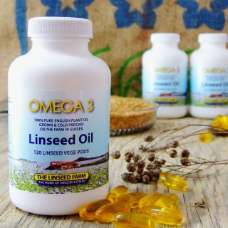 Linseed/Flaxseed Oil Vege Pods
