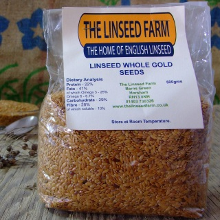 Whole Gold Linseed/Flaxseeds