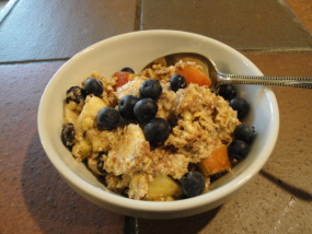 Linseed Muesli breakfast