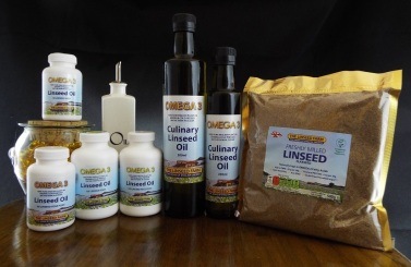 linseed flaxseed flax oil meal