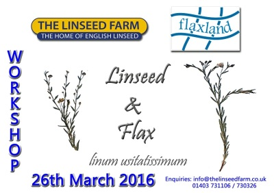 WORKSHOP on Linseed & Flax
