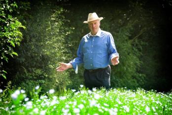 Durwin Banks the Linseed Flaxseed farmer