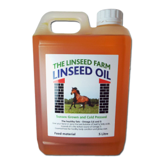 Linseed/Flaxseed Oil for Animals
