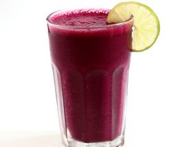 Delicious Winter Smoothie with linseed/flaxseed oil