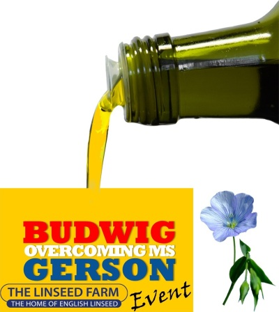 Budwig, Gerson, Overcoming MS & why Linseed (Flax) Oil is key